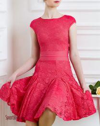 Платье для танцев, красное