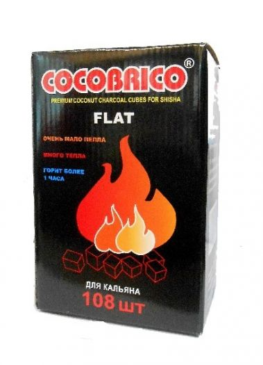 Уголь Cocobrico 108 шт.