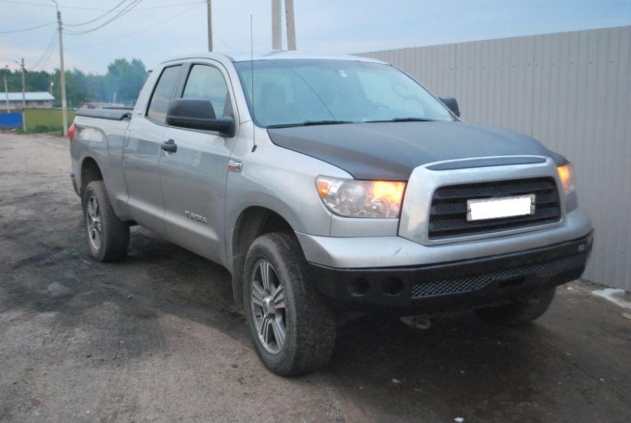Силовой бампер передний (серия Л) Toyota Tundra