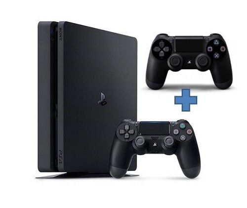 Игровая приставка Sony Playstation 4 Slim 500Gb + Dualshock 4.
