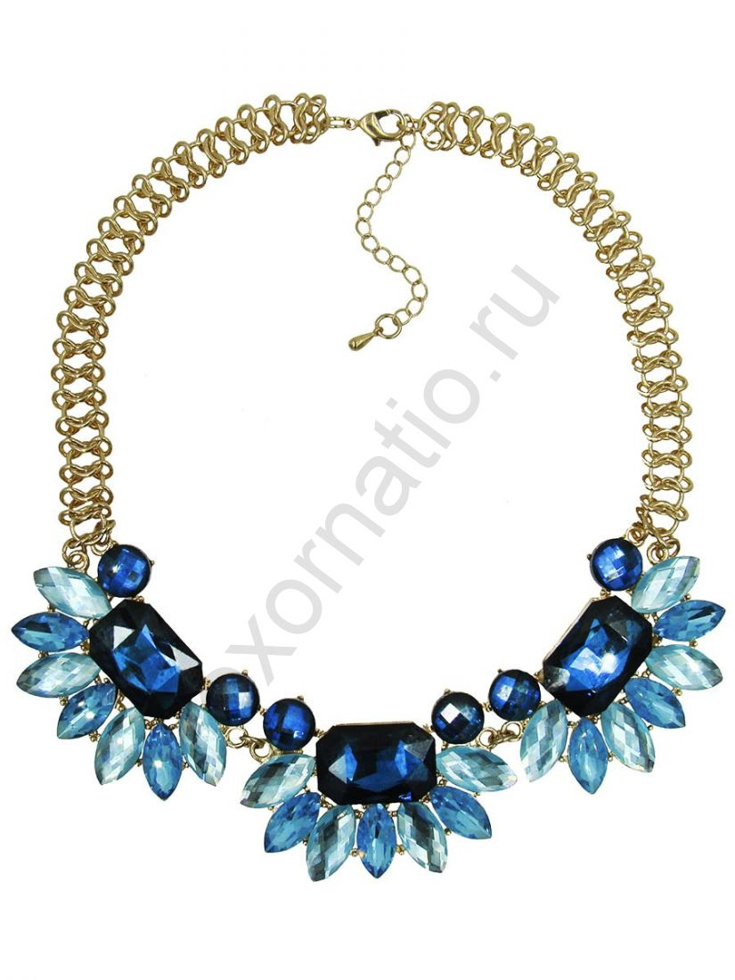 Колье Taya LX. T-B-8969-NECK-GL.BLUE