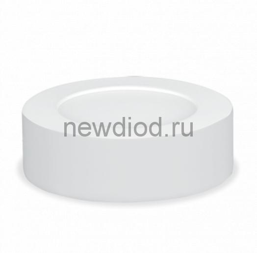 Панель сд круглая NRLP-eco 12Вт 230В 4000К 840Лм 170мм белая накладная IP40 IN HOME