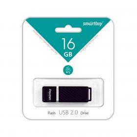 16GB USB-флеш накопитель QUARTZ SMARTBUY черный