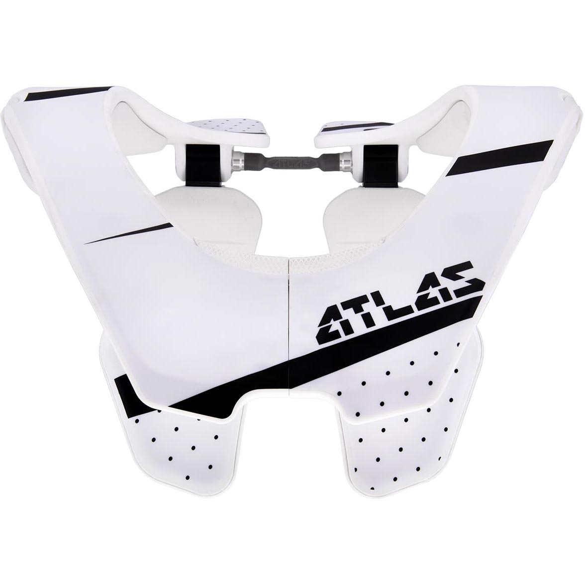 Atlas - Air Trooper защита шеи, бело-черная
