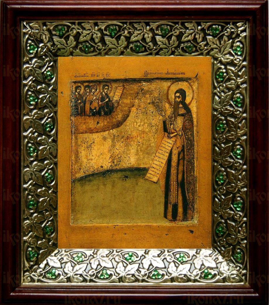 Аввакум протопоп (21х24), киот со стразами