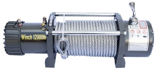 CM Winch 12V 12000 lbs CM12000