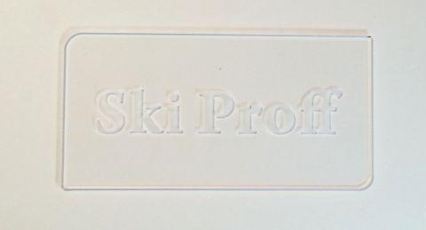 Скребок SkiProff 3 мм