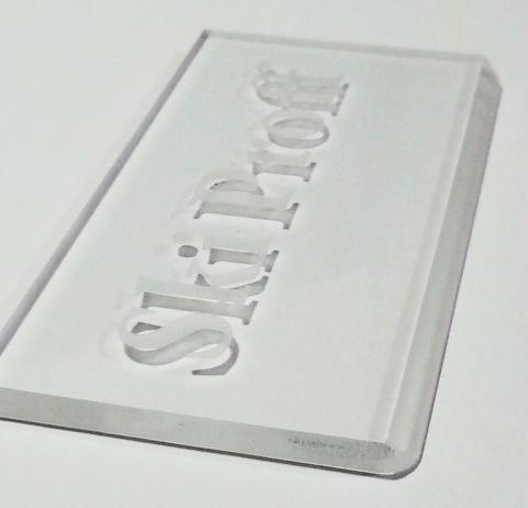 Скребок SkiProff 5 мм