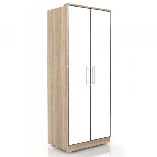Шкаф «Бруна» с 2-мя зеркальными дверями (ЛД 631.140, 631.132)