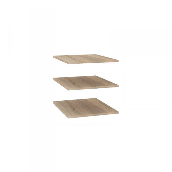 Полки для шкафа «Бруна» (ЛД 401.005)
