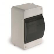 Щит навесной 2-4 модуля с дверцей LUXEL белый