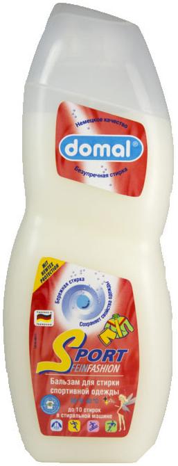 Domal Универсальное концентрированное жидкое моющее средство для стирки спортивной одежды подходит для тонких вещей и мембранной одежды 750 мл