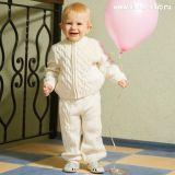 Вязаный костюмчик для малышей