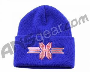 Шапка HK Army Beanie - Blue/Red Stitch
