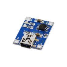Модуль зарядки литиевых аккумуляторов 1A