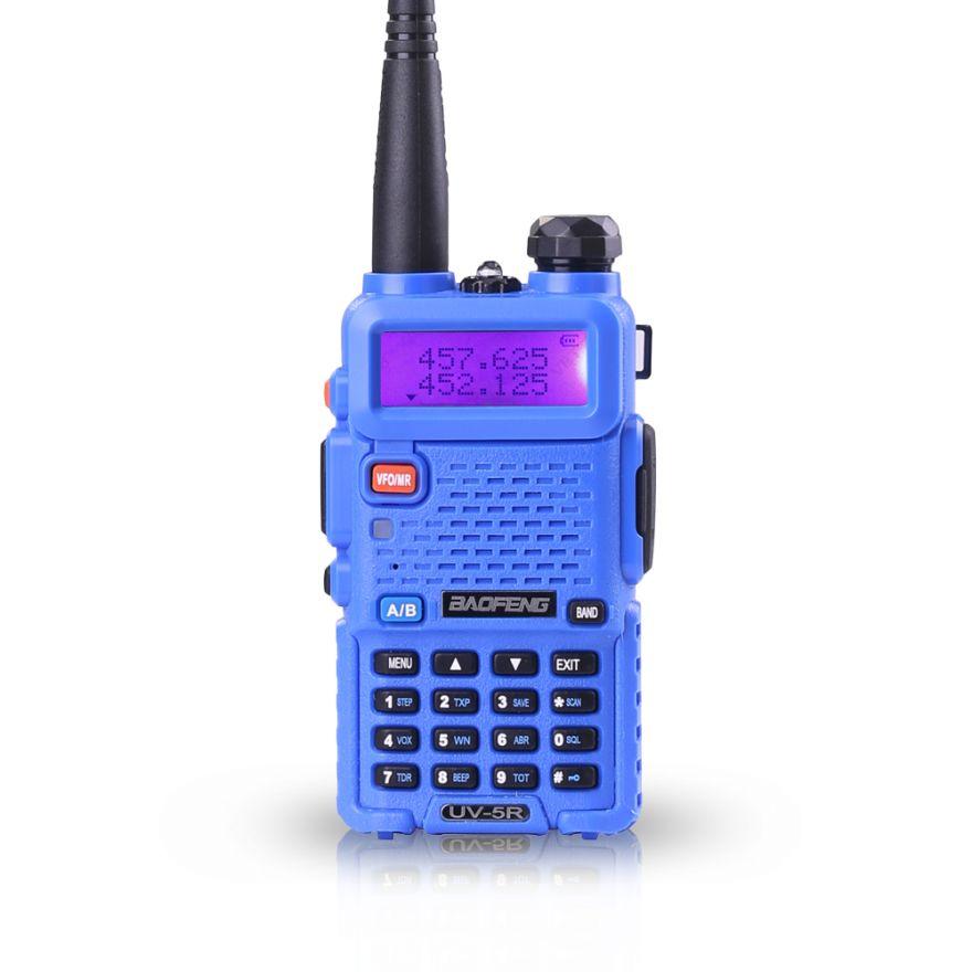 Рация Baofeng UV-5R 8 Ватт синяя