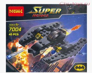 Конструктор Decool Super Heroes Бэтвинг 45 дет. (7004)