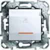 Выкл. карточный Unica белый