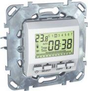 Терморегулятор Unica (от +5 до +35 градусов) программируемый бежевый