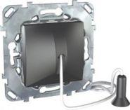 Выкл. Unica Top без фиксации со шнуром 1 м цвет Графит