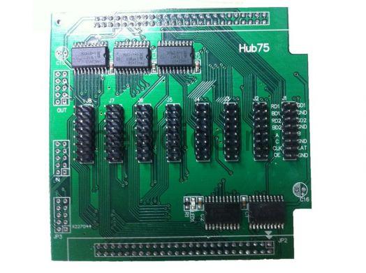 Контроллер для сд экранов HUB-75 (256-16 рядов)HD