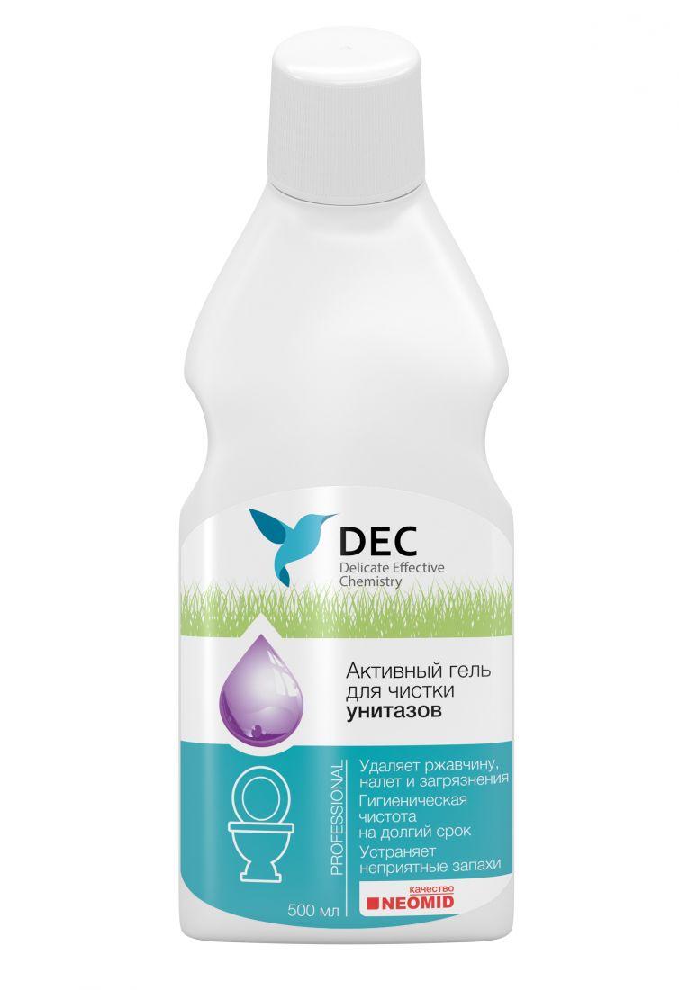 DEC Активный гель для чистки унитазов 0,5л.