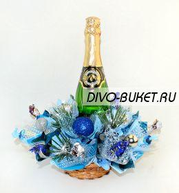 """Букет из конфет №655 """"Новогодний хоровод"""""""
