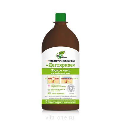 Жидкое мыло Дегтярное для проблемной кожи 1000 мл