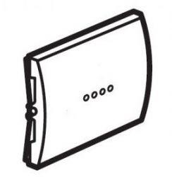 Клавиша выключателя с подсветкой Galea Life White (арт.771034)