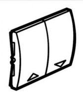 Клавиша выключателя управления рольставнями Galea Life Белая (арт.777014)