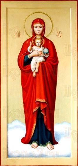Валаамская икона Божией Матери (рукописная)