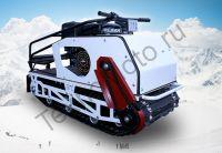 БТС-2 Мини 500/15 мотобуксировщик с двигателем lifan мощностью 15 л. с., с передним приводом, вариатором Сафари и электростартером