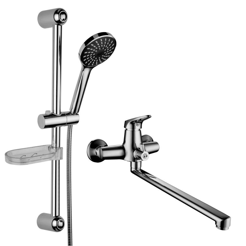 """Комплект смесителей Lemark Set LM7303C для ванной """"2 в 1"""""""