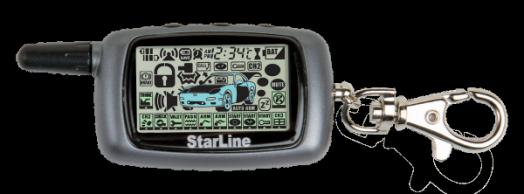 Брелок для сигнализации LCD Starline A9