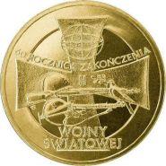 Польша 2 злотых 2005 60-я годовщина окончания Второй мировой войны Ni