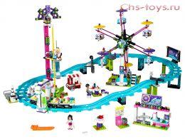 Конструктор LELE Friends Парк развлечений: Американские горки 37011(Аналог Lego Friends 41130) 1124 дет