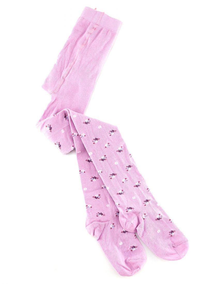 Колготки для девочки розовые рост 116-122