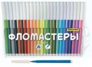 """Фломастеры 24 цв. """"Народная серия"""" (арт. 877067-24) (13512)"""