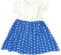 Удобное летнее платья для девочки из легкого трикотажа