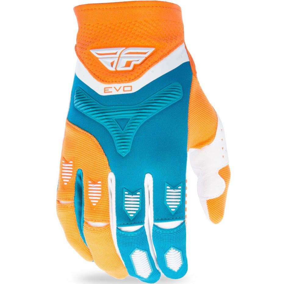 FLY - 2017 Evolution 2.0 перчатки, оранжево-зеленые