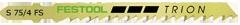 Пилки для лобзика, компл. из 20 шт. S 75/4 FS Festool
