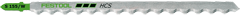 Пилки для лобзика, компл. из 3 шт. S 155/W Festool