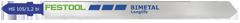 Пилки для лобзика, компл. из 5 шт. HS 105/1,2 BI/5 Festool
