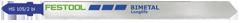 Пилки для лобзика, компл. из 5 шт. HS 105/2 BI/5 Festool