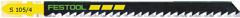Пилки для лобзика, компл. из 5 шт. S 105/4/5 Festool