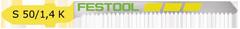 Пилки для лобзика, компл. из 5 шт. S 50/1,4 K/5 Festool