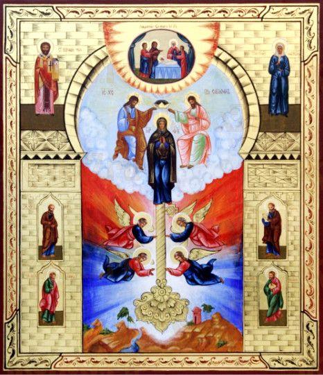 Ключ разумения (рукописная икона)