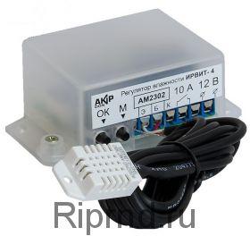 ИРВИТ-4 Регулятор влажности 10А + термометр 12в