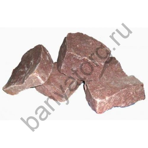 Камень малиновый кварцит колотый 20кг