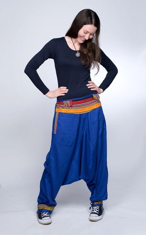 ФИОЛЕТОВЫЕ Непальские штаны афгани, унисекс (Москва)